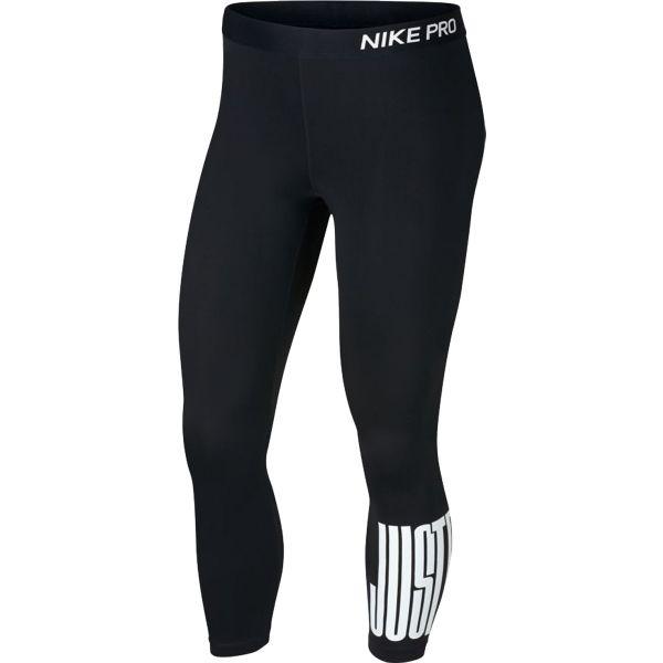 Nike NP CROP JDI BLKD - Dámske športové legíny
