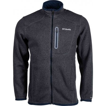 Hanorac bărbați - Columbia ALTITUDE ASPECT FULL ZIP - 1