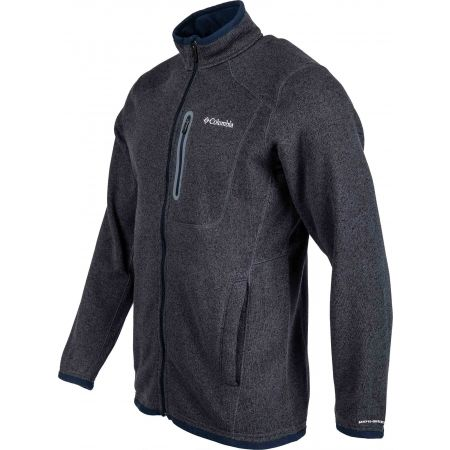 Hanorac bărbați - Columbia ALTITUDE ASPECT FULL ZIP - 2