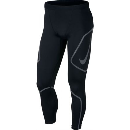 Nike TECH TIGHT FL GX - Pantaloni alergare bărbați
