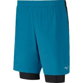 Mizuno ALPHA 2IN1 7.5 SHORT - Men's running shorts