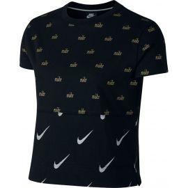 Nike NSW TOP SS METALLIC - Damen T-Shirt