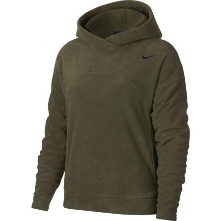 Women's sports sweatshirt - Nike NK THRMA HOODIE POLAR - 1