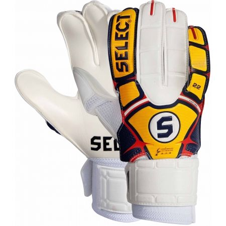 Kids' football gloves - Select 22 FLEXI GRIP