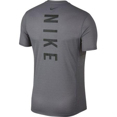 Pánske bežecké tričko - Nike MILER TECH TOP SS - 2
