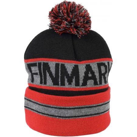 Зимна плетена  шапка - Finmark ЗИМНА ШАПКА