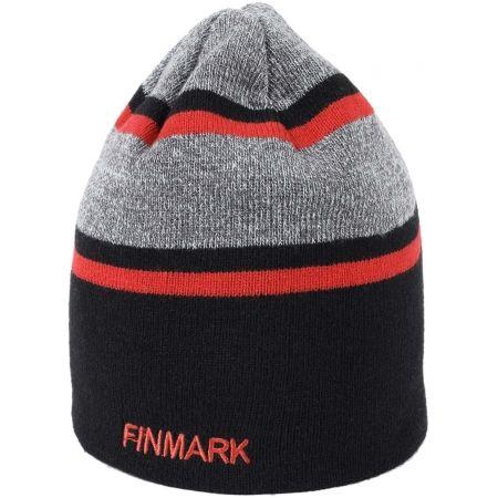 Pánska pletená čiapka - Finmark ZIMNÁ ČIAPKA