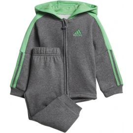 adidas LOGO FULL ZIP HOODED JOGGER