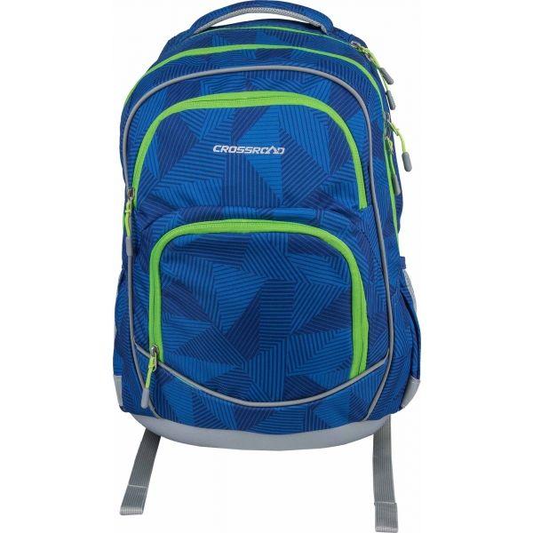 Crossroad DJANGO 20 modrá NS - Školský batoh
