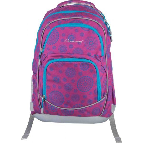 Crossroad DJANGO 20 fialová NS - Školský batoh