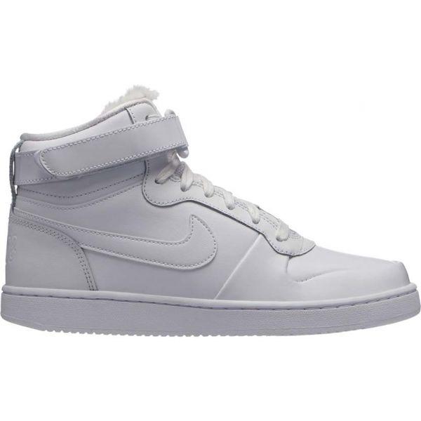 Nike EBERNON MID PREMIUM bílá 7.5 - Dámská kotníčková obuv
