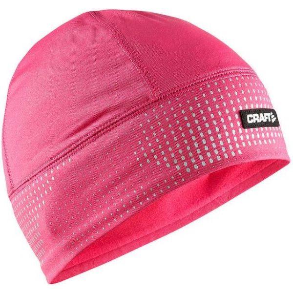 Craft BRILLIANT 2.0 CAP růžová L/XL - Funkční běžecká čepice