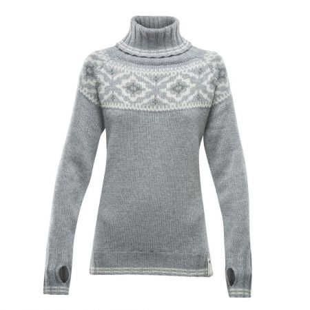 Pulover de damă - Devold ONA WOMAN ROUND SWEATER - 1