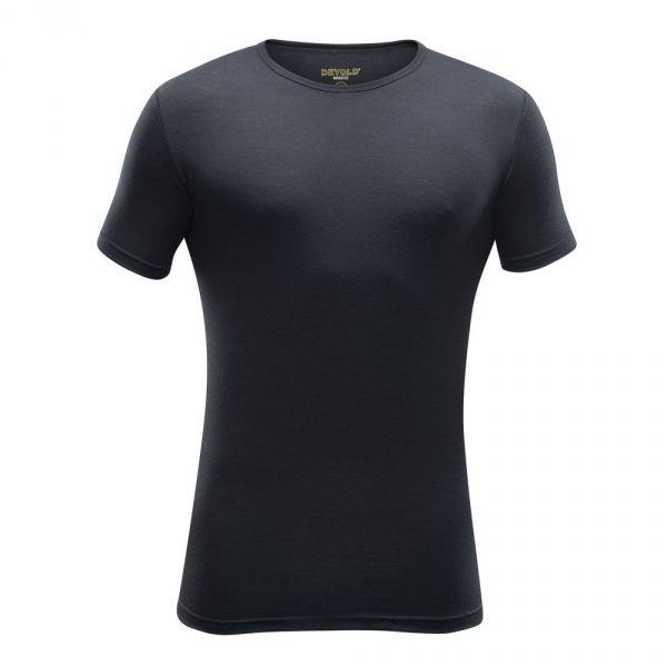 Devold BREEZE MAN T-SHIRT fekete L - Férfi gyapjú póló