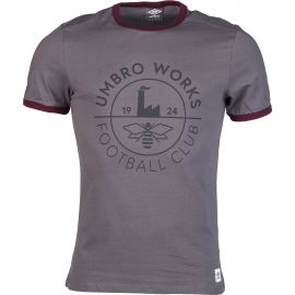 Umbro THE HATTON - GRAPHIC TEE - Koszulka męska