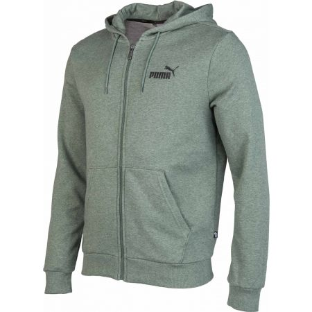 Men's sweatshirt - Puma ELEVATED ESS HOODY TR FZ - 2