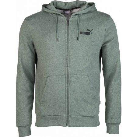 Men's sweatshirt - Puma ELEVATED ESS HOODY TR FZ - 1
