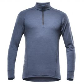 Devold DUO ACTIVE MAN ZIP NECK - Men's functional T-shirt
