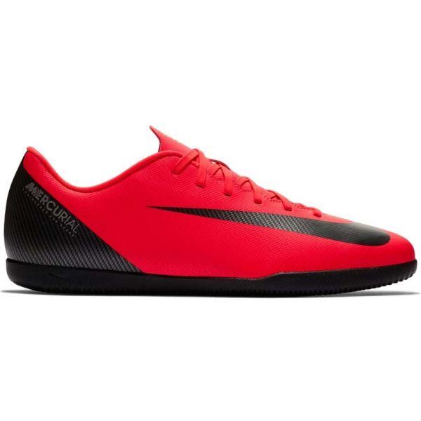 Nike CR7 VAPORX 12 CLUB IC červená 11.5 - Pánské sálovky