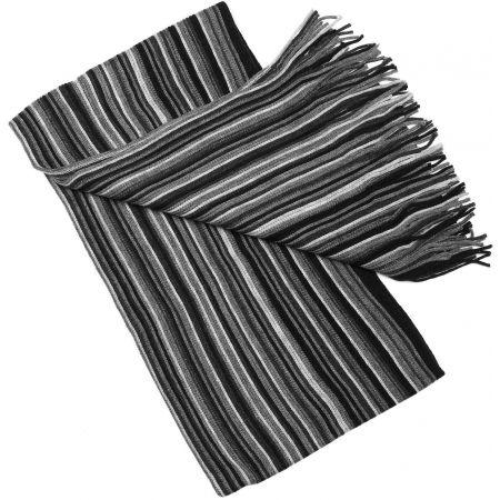 Zimný pletený šál - Finmark ZIMNÝ ŠÁL