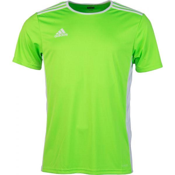 adidas ENTRADA 18 JSY svetlo zelená XL - Pánsky futbalový dres