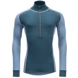 Devold WOOL MESH MAN HALF ZIP NECK - Men's functional T-shirt