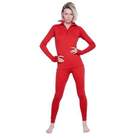 Women's functional T-shirt - Devold EXPEDITION WOMAN ZIP NECK - 2