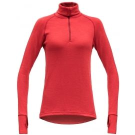 Devold EXPEDITION WOMAN ZIP NECK - Women's functional T-shirt