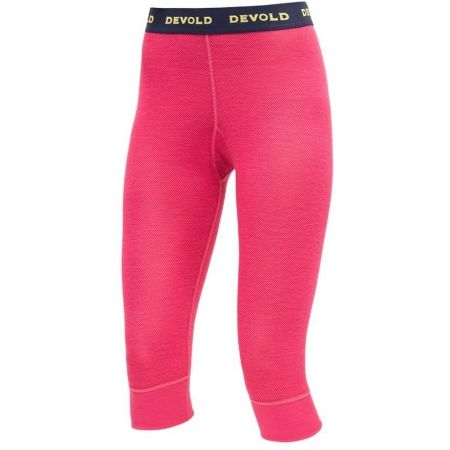 Women's 3/4  length underpants - Devold WOOL MESH WOMAN 3/4 LONG JOHNS