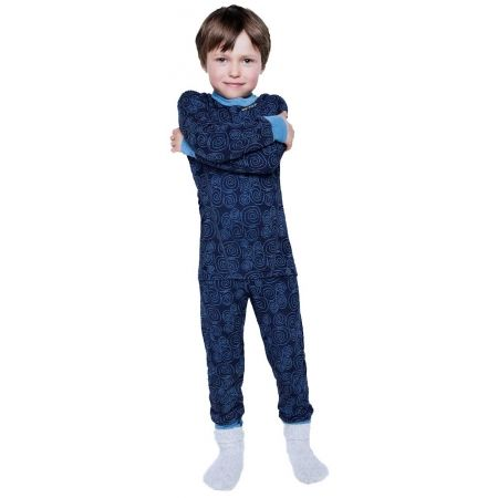 Lenjerie de corp copii - Devold ACTIVE KID LONG JOHNS - 2