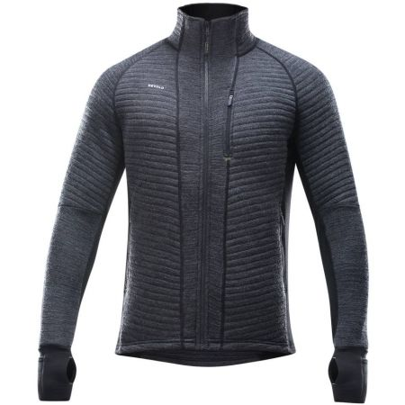 Functional men's hoodie - Devold TINDEN SPACER MAN JACKET