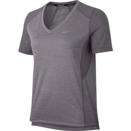 a6be25de3863 Dámské běžecké triko - Nike MILER TOP VNECK - 1