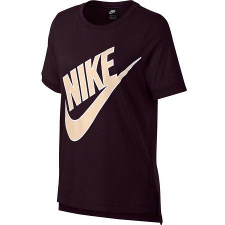 cfe58bb6181f Dámske tričko - Nike NSW TOP SS PREP FUTURA - 1