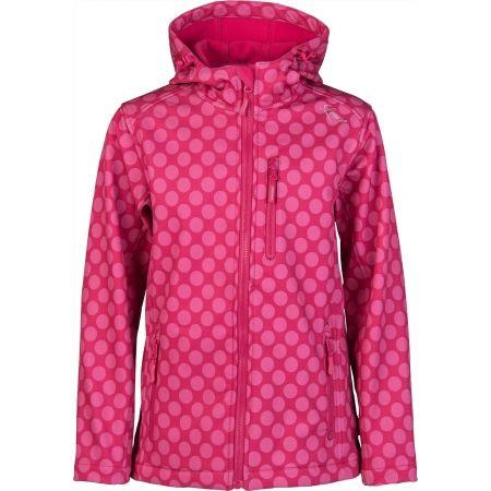 Dievčenská softshellová bunda - Lewro DONA - 1