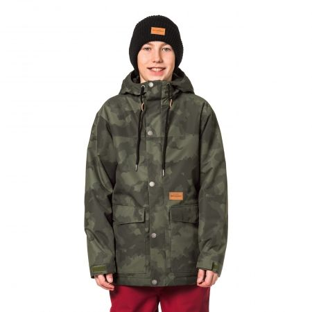 Chlapčenská lyžiarska snowboardová bunda - Horsefeathers LANC KIDS JACKET -  1 12c695b2c31