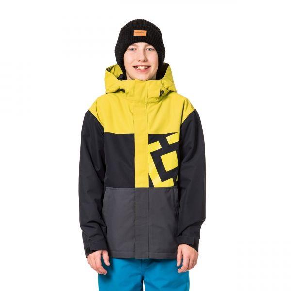 Horsefeathers FALCON KIDS JACKET žltá S - Chlapčenská lyžiarska/snowboardová bunda