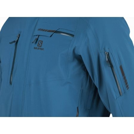 Pánska lyžiarska bunda - Salomon BRILLIANT JKT M - 4