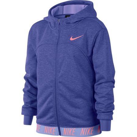 Спортен суитшърт за момичета - Nike DRY HOODIE FZ STUDIO - 1
