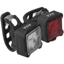 AXA NITELINE 44 - Set předního a zadního světla na kolo