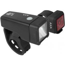 AXA NITELINE T1 - Set předního a zadního světla na kolo