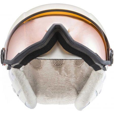 Dámská lyžařská helma - Uvex HLMT 400 VISOR - 2
