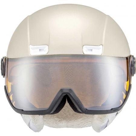 Dámska lyžiarska prilba - Uvex HLMT 400 VISOR - 1
