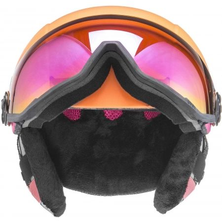 Дамска каска за ски - Uvex HLMT 400 VISOR - 5