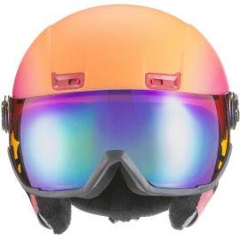 Uvex HLMT 400 VISOR - Cască de ski damă