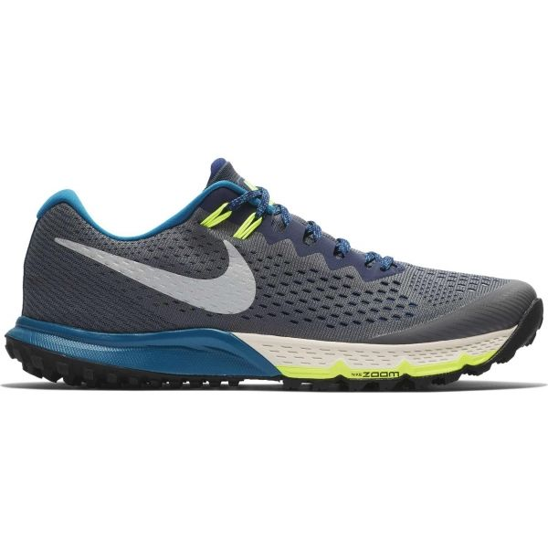 Nike AIR ZOOM TERRA KIGER 4 šedá 10.5 - Pánská běžecká obuv