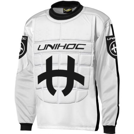Unihoc SHIELD SWEATER JR - Floorball goalkeeper's jersey