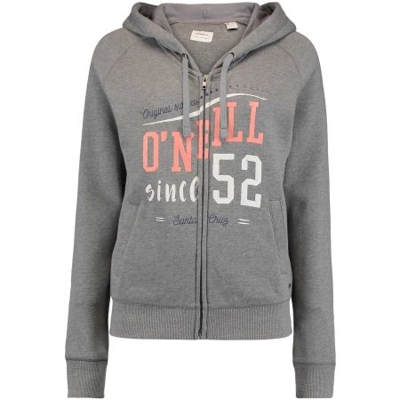 Damen Sweatshirt - O'Neill LW LOGO ZIP HOODIE - 1