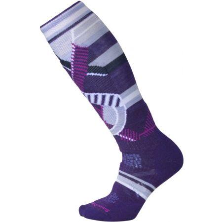 Women's ski knee socks - Smartwool PHD SKI MED PATT W - 1
