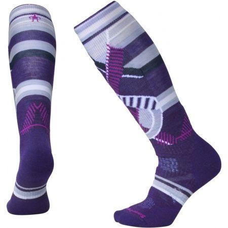 Women's ski knee socks - Smartwool PHD SKI MED PATT W - 2
