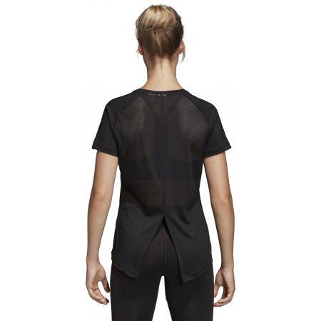 Дамска тениска - adidas D2M 3S TEE - 4